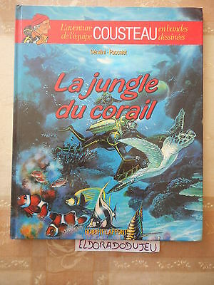 Eldoradodujeu > Bd - Cousteau 2 La Jungle Du Corail - Laffont Eo 1985 Be-*