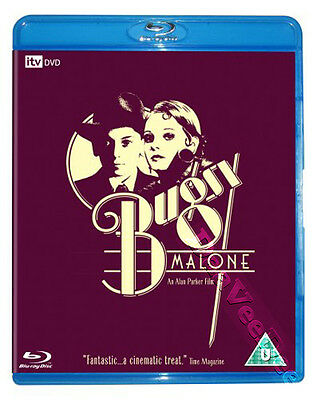 Bugsy Malone NEW Classic Blu-Ray Disc Jodie Foster