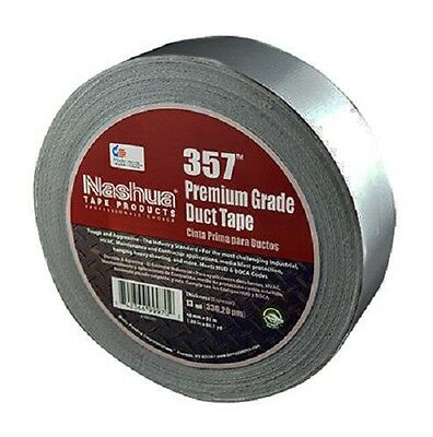 "(12) rolls NASHUA 357 2"" x 60 yd Gray HVAC Industry All Weather Thick Duct Tape"