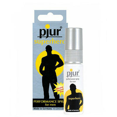 Pjur SuperHero Spray 20ml retardante - Envio Domicilio