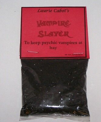 Vampire Slayer Incense By Laurie Cabot ~ Witchcraft