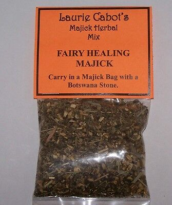 Fairy Healing Majick Herbal Mix Created By Laurie Cabot ~ Witchcraft ~ Magic