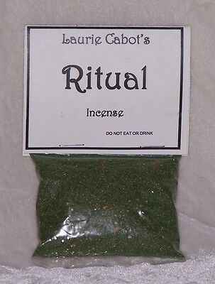 Ritual Incense By Laurie Cabot ~ Witchcraft
