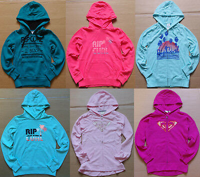 Rip Curl Girls Fleece Pullover Hoodie size 8 10 12 14 16 New with Defects Jumper