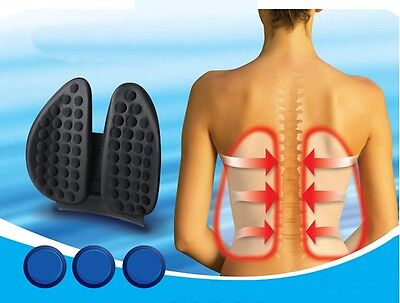 GB Car waist supporter Back Pain Correct posture Cushion Comfortable Body Spine