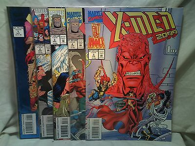 X-Men 2099 Marvel Comics issues 1 2 3 4 5
