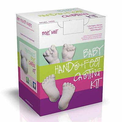 BABY MADE - DIY Baby Casting Kit - Foot & Hand Gift Boxed 100% Safe **NEW**