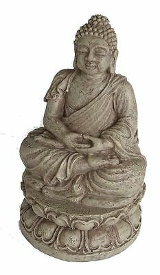 Meditating Buddha Statue Aquarium Ornament Fish Tank Decoration