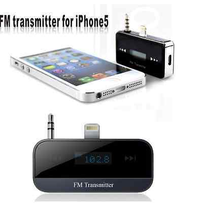 Wireless Bluetooth LCD FM Transmitter Handsfree MP3 for iPhone 6 5 5C 4