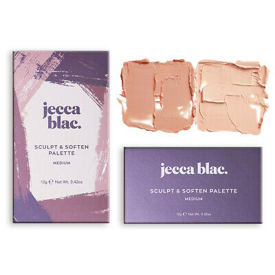 Jecca Blac Sculpt & Soften Palette Make Up Light Medium Vegan & Cruelty Free New