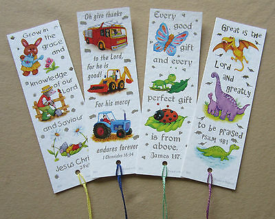 12 Children's Favourites Bookmarks with Bible verse