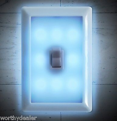 Night Light Wall Switch Wireless Battery LED Lamp. Ideal Children's Bedroom