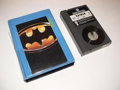 Betamax Video ~ Batman ~ *USA NTSC* ~ Cut Carton in Case