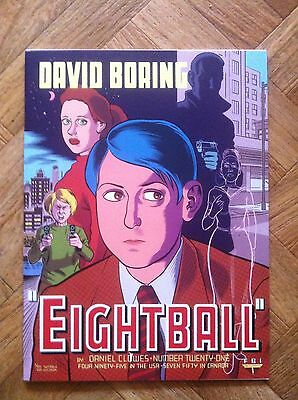 Eightball 21 David Boring Very Fine/near Mint (F34)
