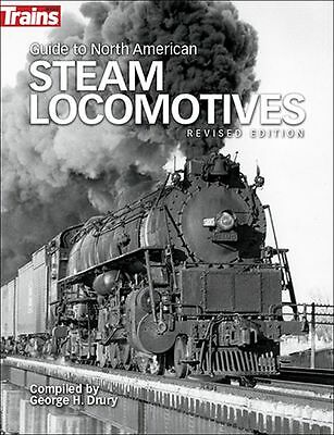 Kalmbach Guide to North American Steam Locomotives Revised Edition Book KAL01302