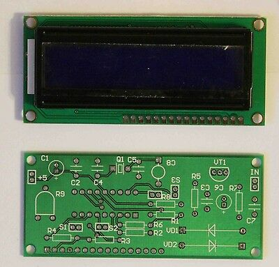 KIT for assembly of Digital Frequency Counter + display base on PIC16F628, RV3YF