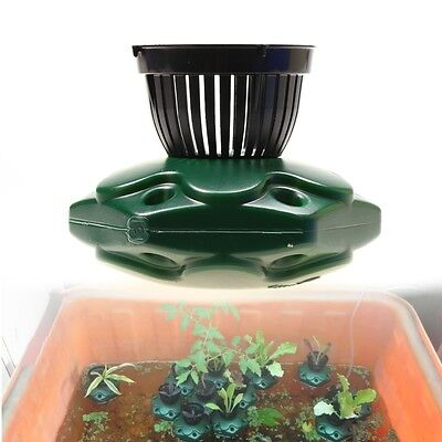 4pcs Aquaponics Floating Pond Planter Pots Set - Hydroponic Island Gardens