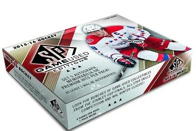 Upper Deck 2015-2016 NHL SP Game-Used Hockey Display
