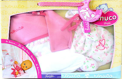 Baby Doll Nighttime Outfit - Dolls Clothes New To Suit 42cm Doll Nenuco
