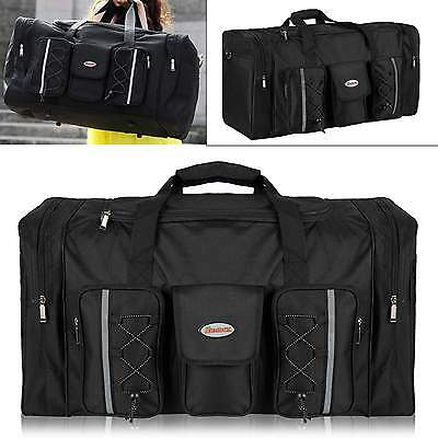 Travel Big Size Foldable Luggage Bag Clothes Storage Carry-On Duffle Bag oxford