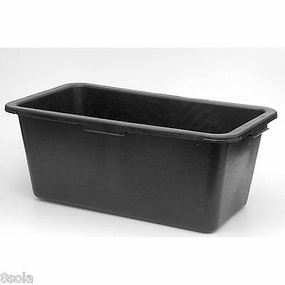 Faulks 40L Multi Tub Horse Feed Rectangular Bucket Equine Stable Water Trough