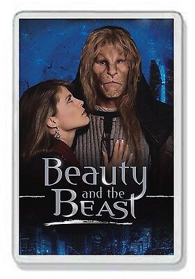 Beauty And The Beast Classic 80S Tv Show And Dvd Fridge Magnet Uk Seller