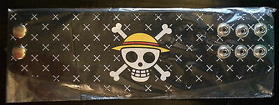 Skull One Piece Leather Wristband Shonen Jump Free UK P&P New