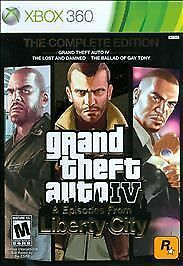 Xbox 360 : Grand Theft Auto IV & Episodes from Liberty City: The Complete