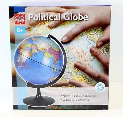 Desk Top Political World Globe - Educational  World  Globe 28 cm New