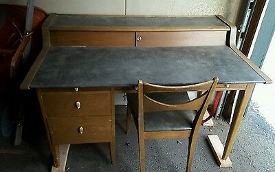 Drexel Desk w/matching chair 1955