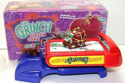 Radio Shack The Grinch Sleigh Game Hardly Used