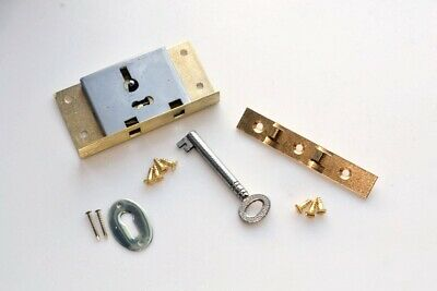 Brass Box Lock Set - Top Quality British Made