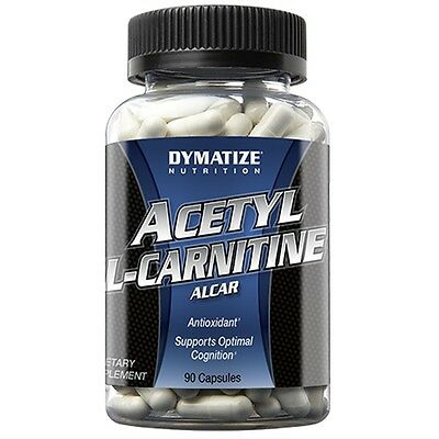 DYMATIZE NUTRITION - Acetyl L-Carnitine - 90 Capsules - free shipping !