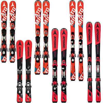 Atomic Redster JR | J2 Kinder-Ski inkl. Bindung Junior Skiset Piste Race Rocker