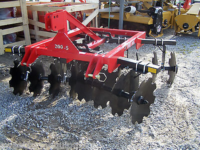 New Dirt Dog HD 6 ft. (3 point)  Disc Harrow --Can ship very inexpensive!!!