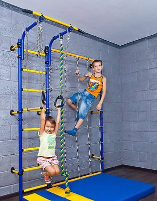 Home Gym Swedish Wall Playground Set for Kids Room - Comet NEXT3 (R3)