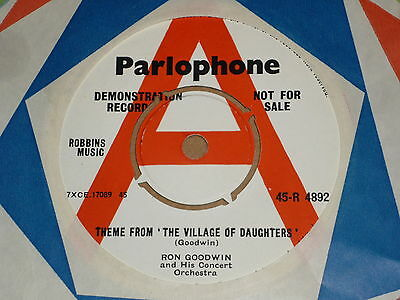 """Ron Goodwin """"Theme from 'The Village Of Daughters'"""" Parlophone Demo 45"""
