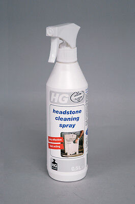 HG Headstone Cleaner Spray 500ml natural stone, plasterwork, masonry cleaner