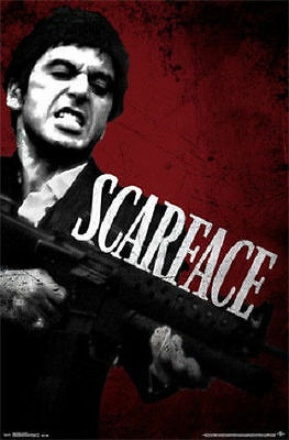 AL PACINO SCARFACE MOVIE SAY HELLO POSTER PRINT NEW 22x34 FREE SHIPPING