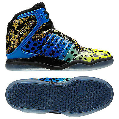 Adidas TS Lite AMR Black/Blue/Yellow/Gold/Floral Ice Poison Frog Q32942 Shoes