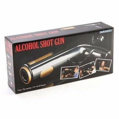 Alcohol Shot Gun, Great Bux Party gift, Vodka, Tequila, Drinking Games, Black