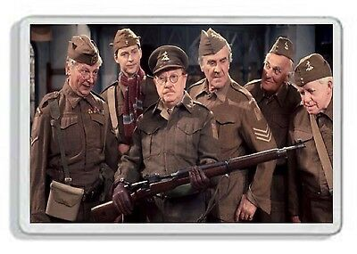 Dads Army Classic 70S Tv Show And Dvd Fridge Magnet Uk Seller