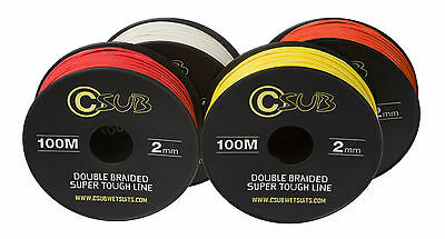 CSUB 2MM Double Braided Super Tough Spearfishing Reel Line 100m (Dyneema)