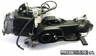 Motor kompl. für 4 Takt China Roller f. SYM Fiddle II 50 4T Bj. 2008-2014