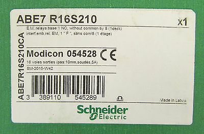 GROUPE SCHNEIDER MODICON ABE7 R16S210 EM Relay Base 054528 SM 2015 W42