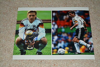 THOMAS HÄßLER  signed autograph In Person 8x10 20x25 cm GERMANY WORLD CUP 1990