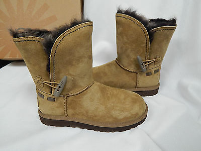 faf8839ff70 UGG WOMEN'S MEADOW Chestnut Suede boots Toscana Fur New With Box ...
