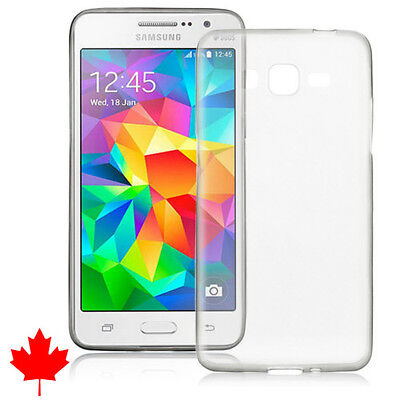 Samsung Galaxy Grand Prime G530 Clear Soft Transparent Silicone TPU Case Cover