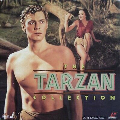 Tarzan Collection (The) Box Set - Ntsc Laserdisc