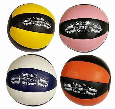 SSS MEDICINE BALLS Various Sizes - LEATHER - 1KG to 20KG - Medicine Balls